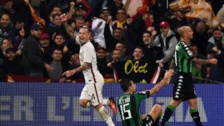 موعد مباراة روما وساسولو اليوم السبت 18-5-2019 في الدوري الايطالي