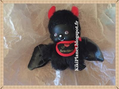 bebichhichi devil boy, édition limitée, kiki, monchhichi, démon