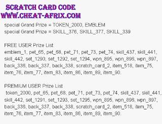Cheat Golden Scratch Cards Update