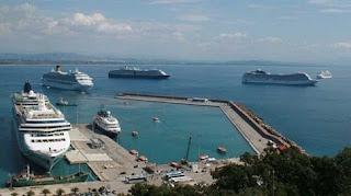 8500 τουρίστες βρέθηκαν στο Κατάκολο Ηλείας