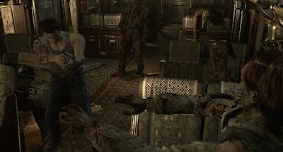 Screenshots Resident Evil 0 HD Remaster