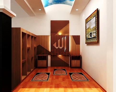 desain mushola dalam rumah model minimalis - thecraftclubblog