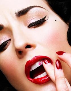 Red Lipstick, Dita Von Teese
