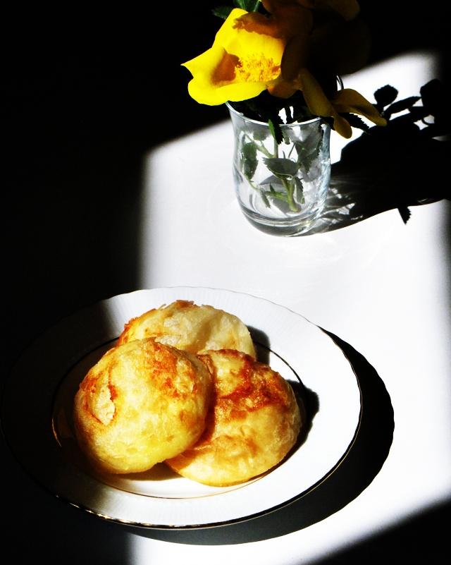 Patatesli donmuş börek