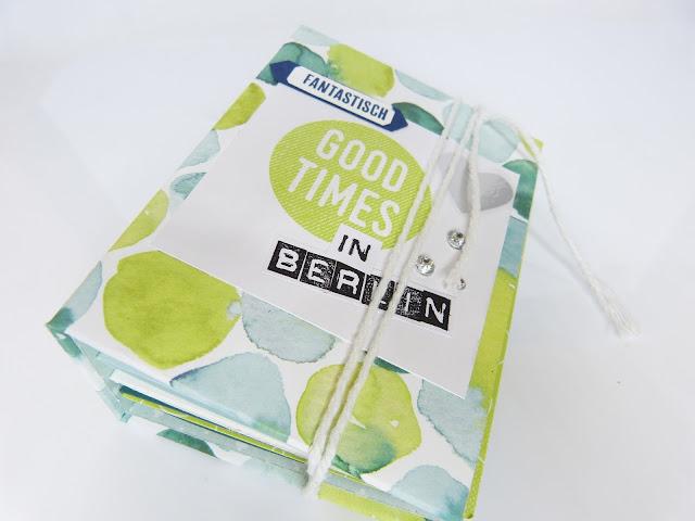 Mini Book Berlin Anleitung YouTube