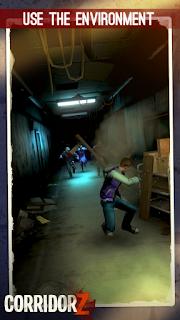 Adalah game runners dengan tema pengejaran zombie Unduh Game Android Gratis Corridor Z apk + obb