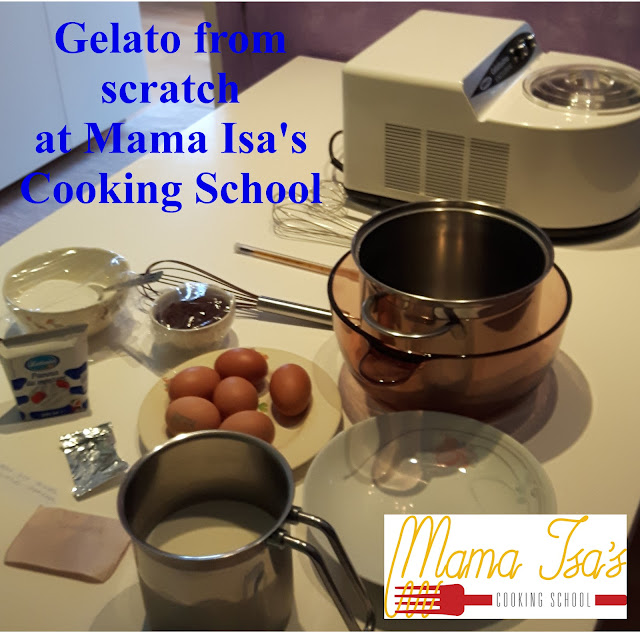 Gelato Classes at Mama Isa's Cooking School in Italy Venice