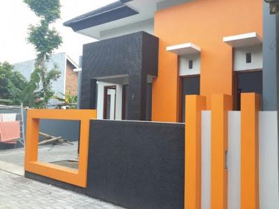Model Terbaru Pagar Tembok Untuk Rumah Minimalis Gambar 6