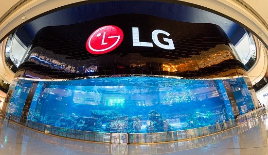 LG just unveiled the world's largest OLED screen in Dubai - Next