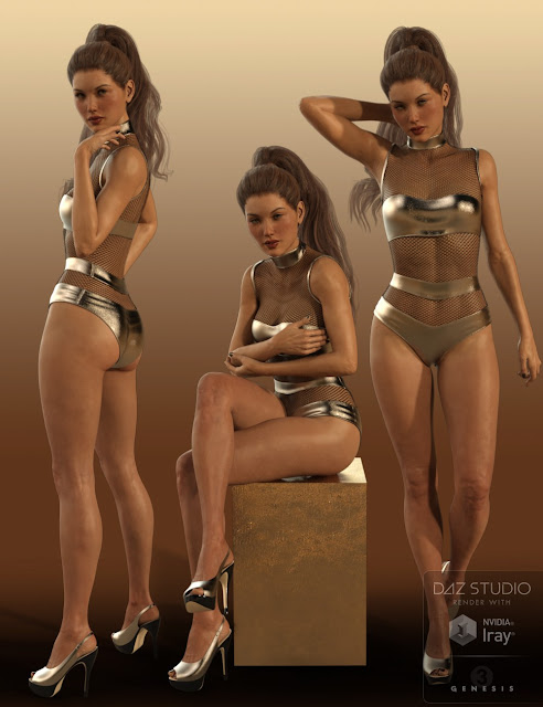 Sweet 'N Sassy Poses and Expressions for Genesis 3 Female