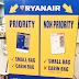 Ryanair меняет правила перевозки ручной клади