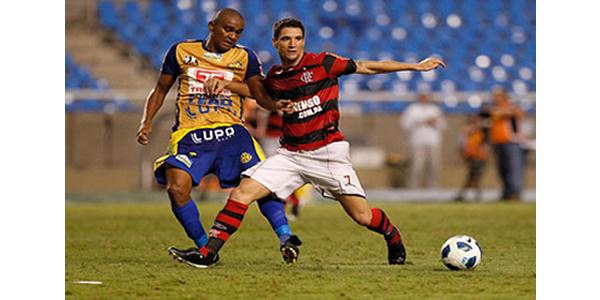 """""""Homem Gol"""" atacante Isac retorna ao Horizonte."""