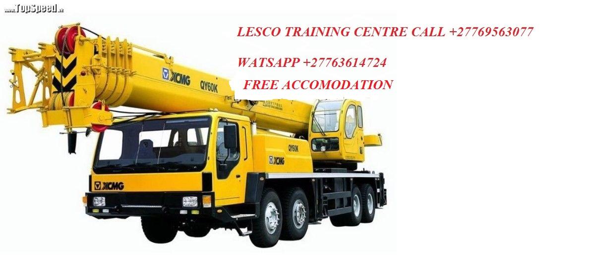 Mobile Crane Nelspruit : Lesco training centre in nelspruit botswana lesotho