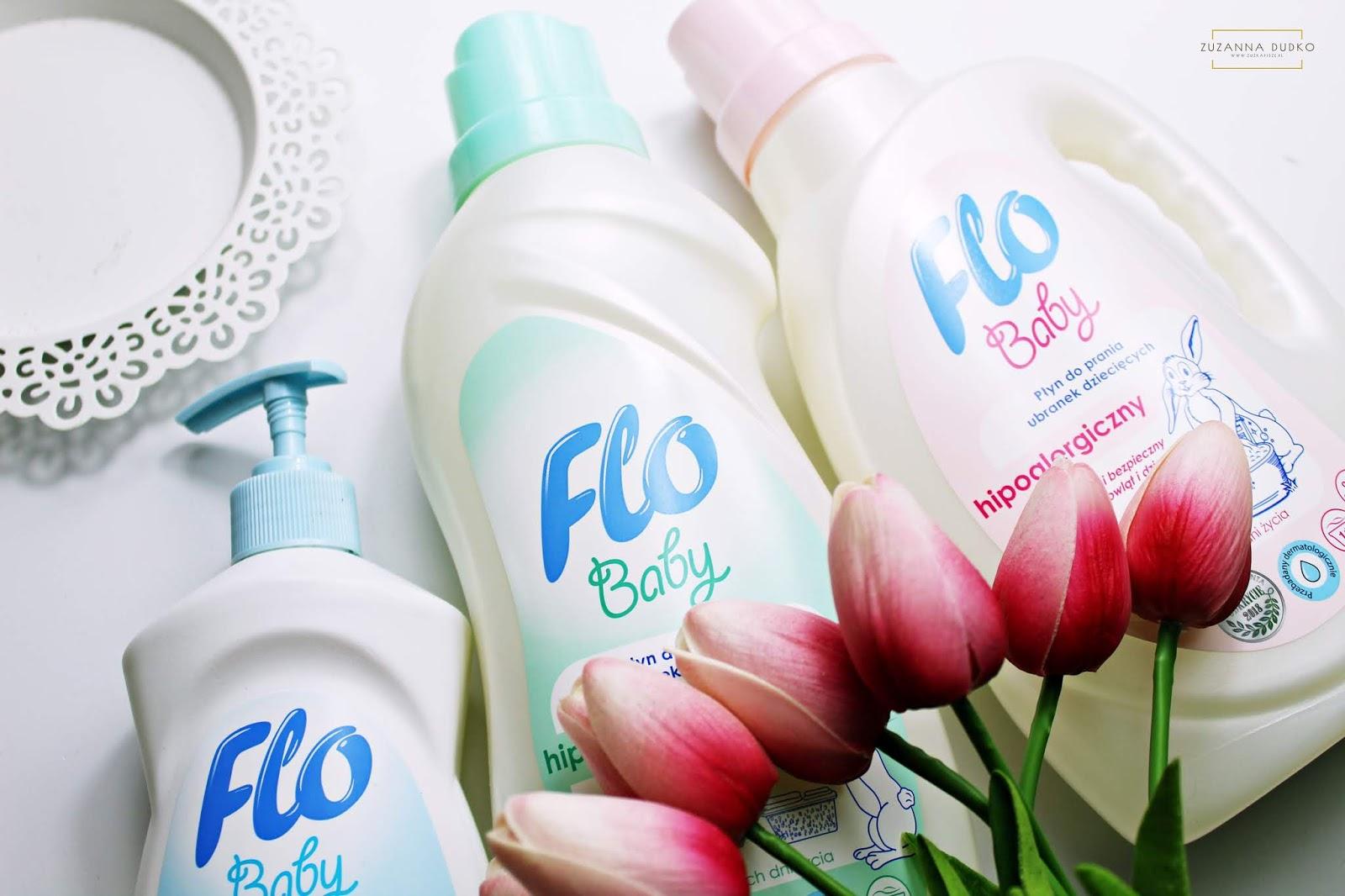 FLO baby - hipoalergiczne środki czystości dla dzieci