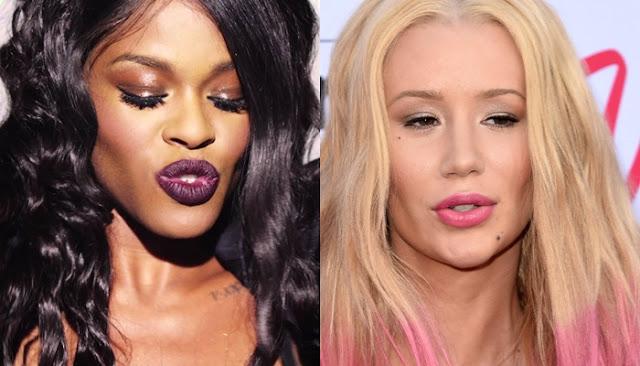 """Azealia Banks sobre Iggy Azalea: """"Su música y su nariz son  basura"""""""