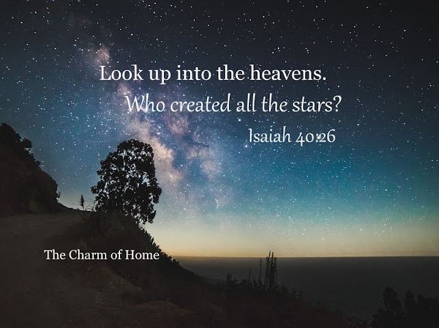 Isaiah 40: The Creator: The Charm of Home