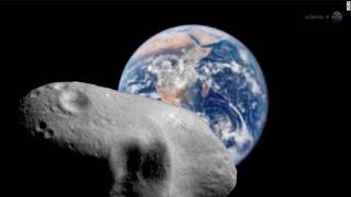 Video: Un enorme asteroide bautizado como el dios de la muerte pasará cerca de la Tierra