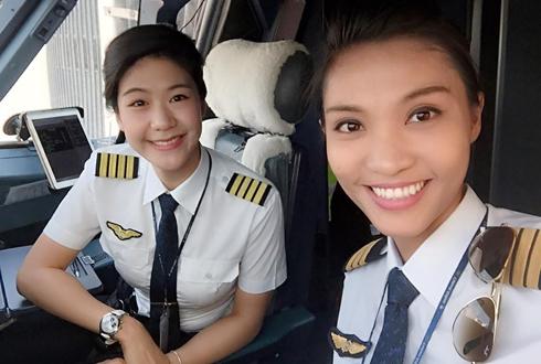Lima Penerbangan Ini Semua Krunya adalah Wanita