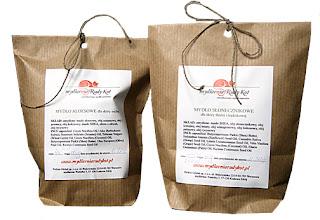 Mydlarnia Rudy Kot pakuje naturalne mydła między innymi w wersji ECO