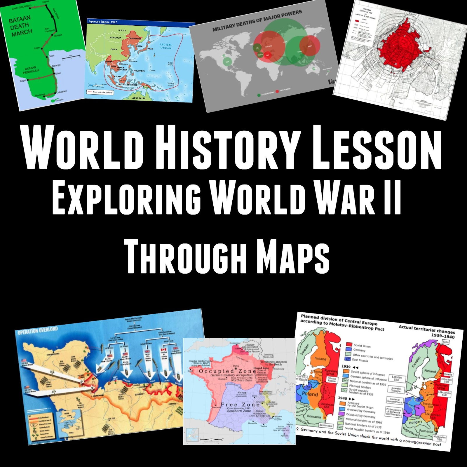 World History Lessons Maps That Explain World War Ii