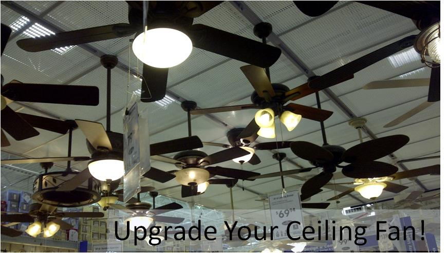 Ceiling fan upgrade install a ceiling fan with uplight and remote ceiling fan store display aloadofball Choice Image