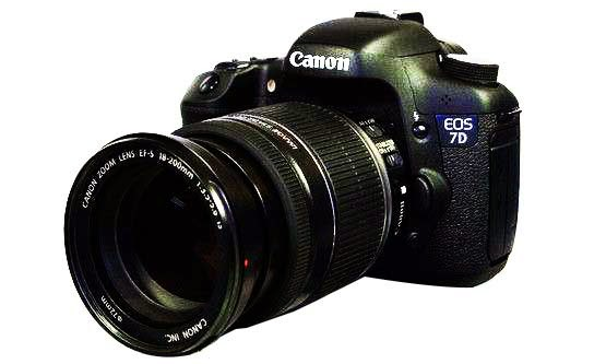 Harga dan Spesifikasi Kamera DSLR Canon EOS 7D Termurah