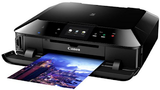 The Canon PIXMA MG7160 Wireless Inkjet Photo All-In-One Printer exposed result of files and images sent out from thought about one of a kind tools
