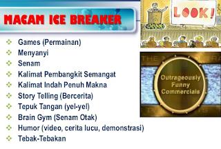 jenis jenis ice breaker