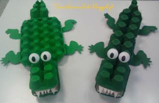 http://umaideiareciclada.blogspot.pt/2015/07/crocodilos-de-caixas-de-ovos.html