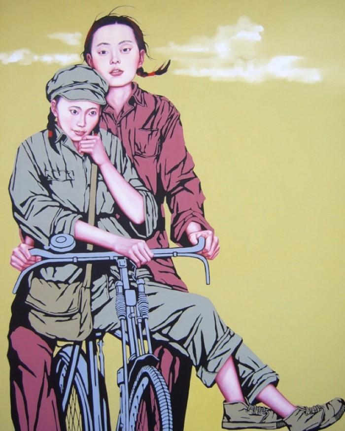 Китайский художник. Liu Chunhai
