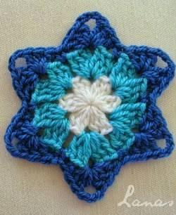 Patrón #764: Granny Estrella