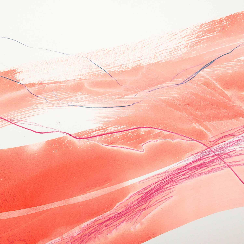 30 x 30 cm, aquarelle et crayons sur papier. En collaboration avec Marina Salzmann, textes. 8 nov 14