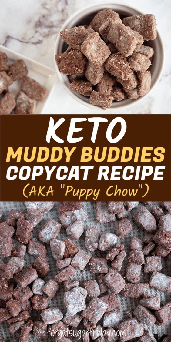 Keto Muddy Buddies Copycat Recipe