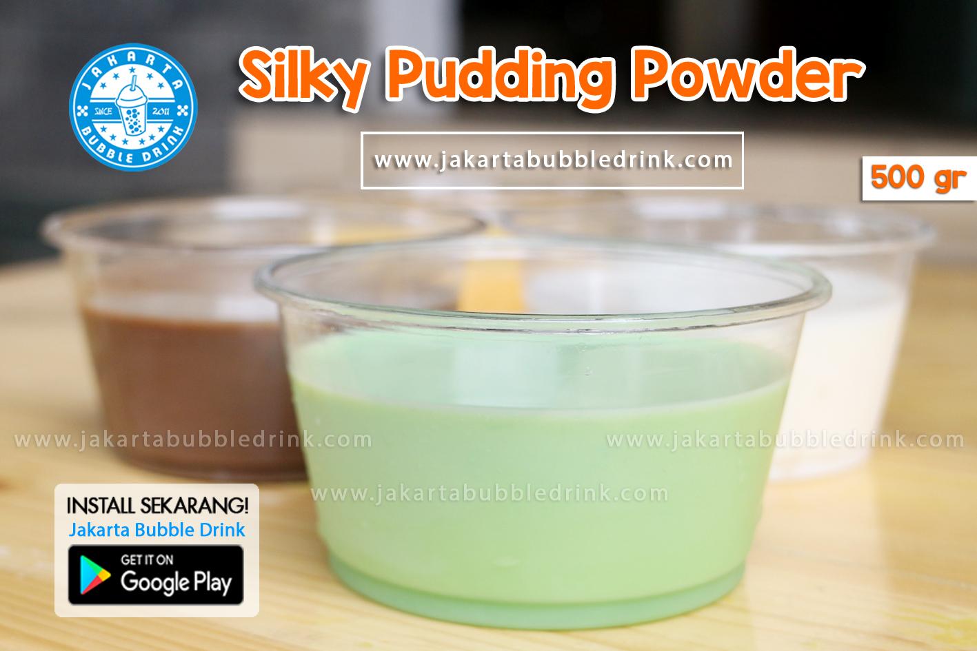 Agen Bubuk Silky Puding Puyo
