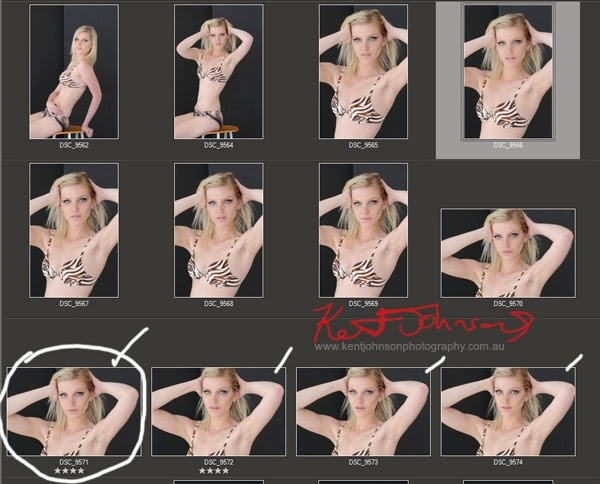 How to make a headshot. Headshot photo sequence - mid length leading up to headshot - Photographed by Kent Johnson.