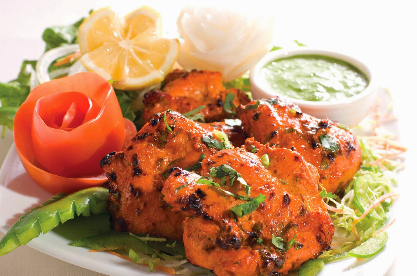 Family Indian Restaurant: Chicken tikka