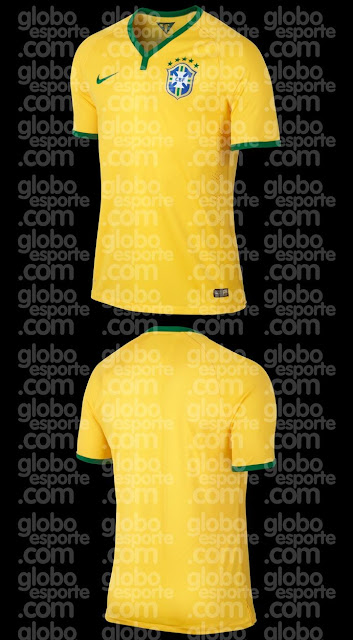 Brazil shirt for 2014 world cup