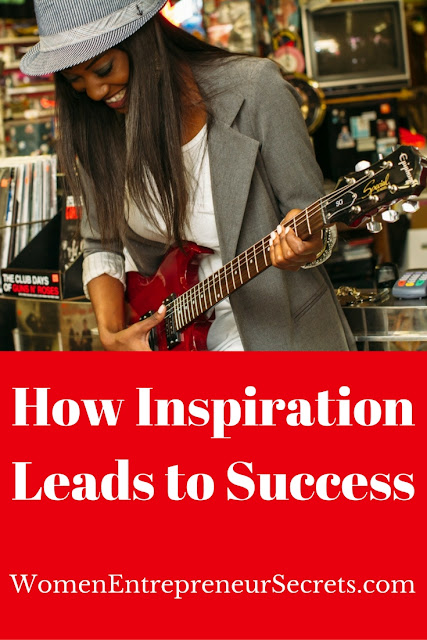 how inspiration leads to success