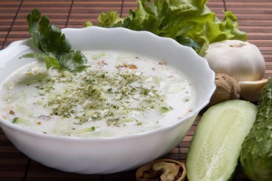 tarator búlgaro yogur pepino sopa Bulgaria