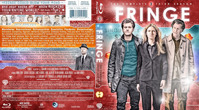 Fringe Season 3 Bluray Cover