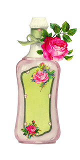 beauty product flower rose bottle image