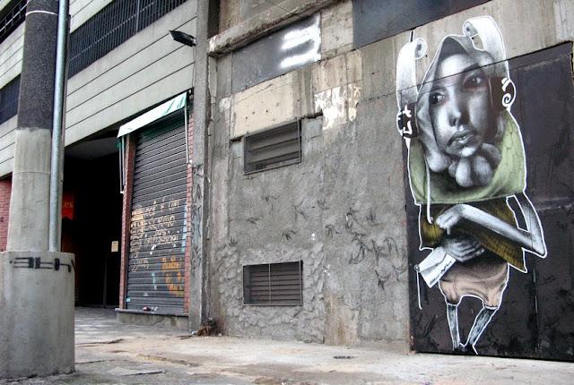 Мрачные рисунки на стенах. Ethos 37