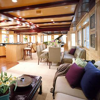Sacksteder S Interiors House Boat Overhullin
