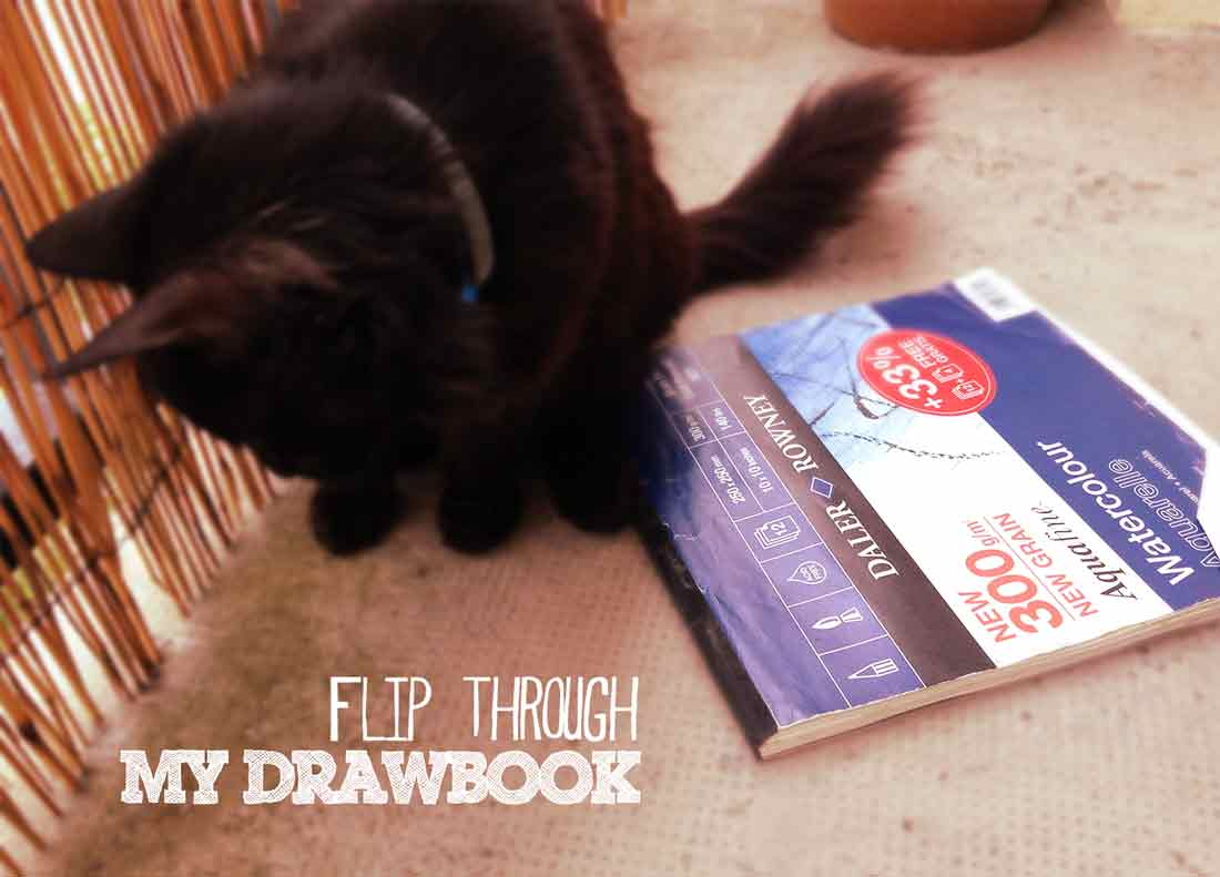 Video-sketchbook-flip-through