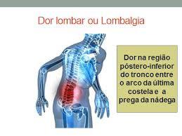 Dores Lombares são sinais de Alerta de problemas na coluna -