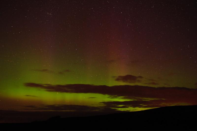 UK Aurora Borealis