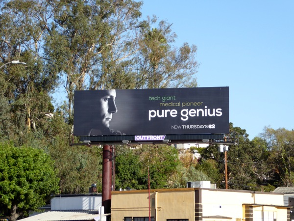 Pure Genius season 1 billboard