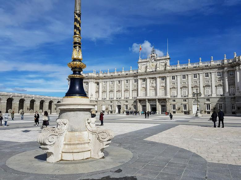 皇宮前的廣場