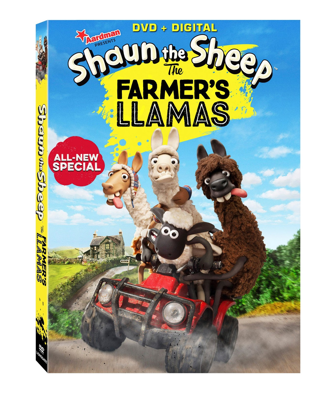 Mommys Block Party Shaun the Sheep The Farmers Llamas – Shaun the Sheep Birthday Card