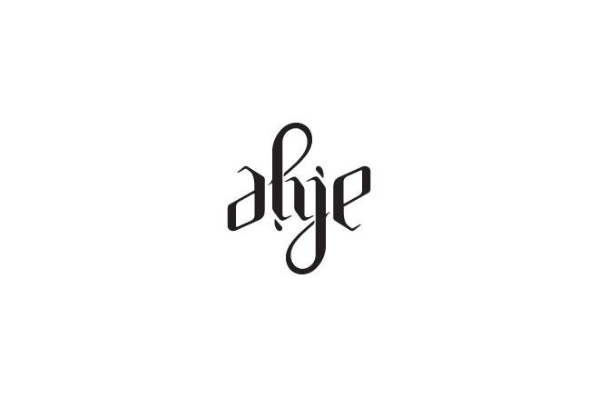 Pengertian Ambirgam, Inspirasi Desain Logo Ambigram - AMJE Ambigram